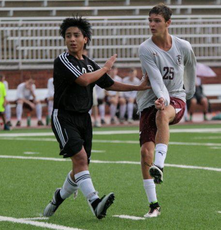 Men's Soccer Striving towards Success