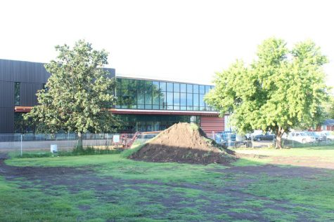 The new science wing. Updates have it finished in December.