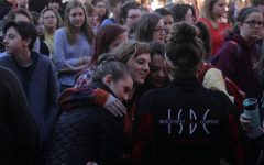Students walkout to support shooting victims