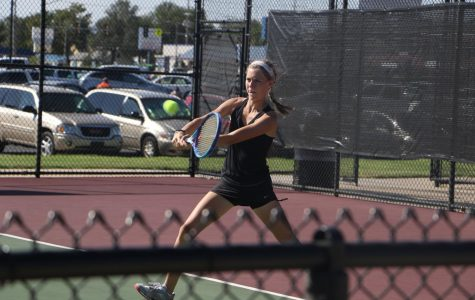 Girls Tennis builds off of positivity heading into post season