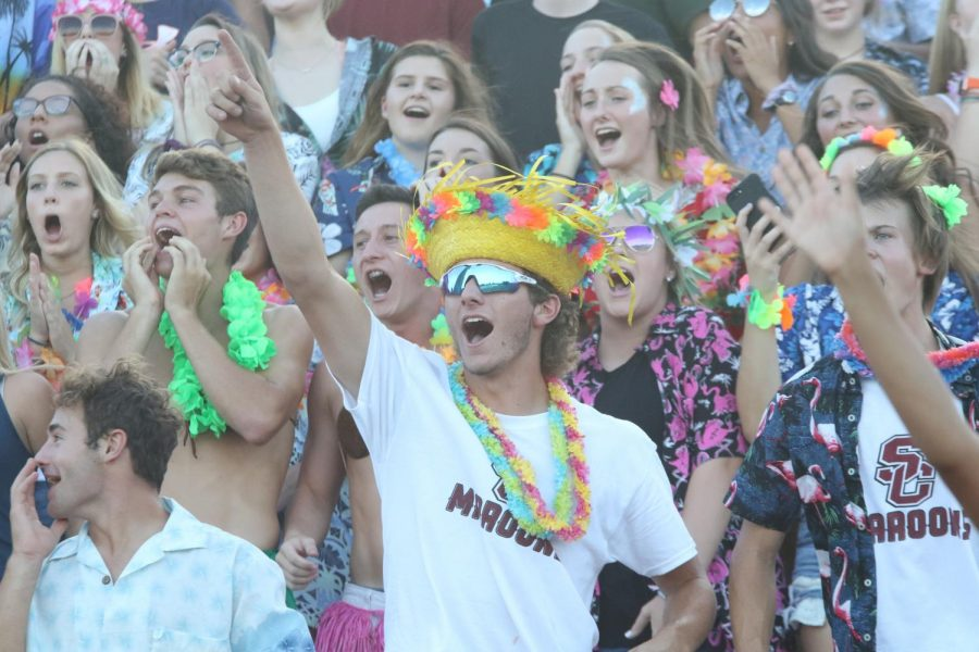 Photo Gallery: Student section