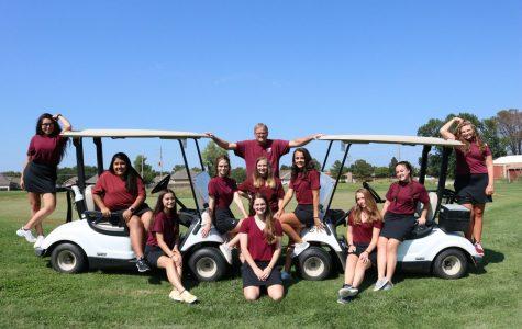 Girls Golf Regionals