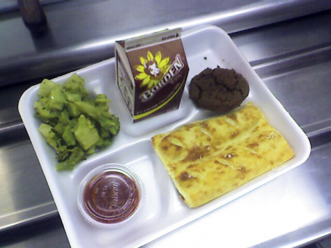 School lunch is probably more like prison food
