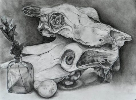 Another piece by Junior Layna Kinnaird