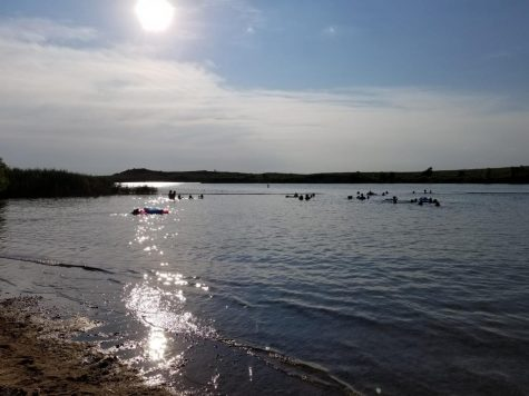 Kanopolis Lake 30 miles west of Salina will be a popular destination once students are released for the summer at 1 p.m. Thursday.